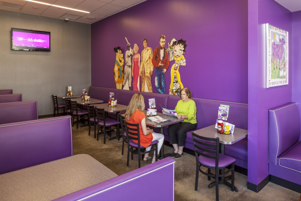 Purple Cow Restaurant Polk Stanley Wilcox Architects